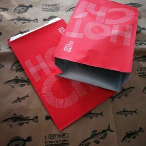 Бумажная упаковка для рыбы