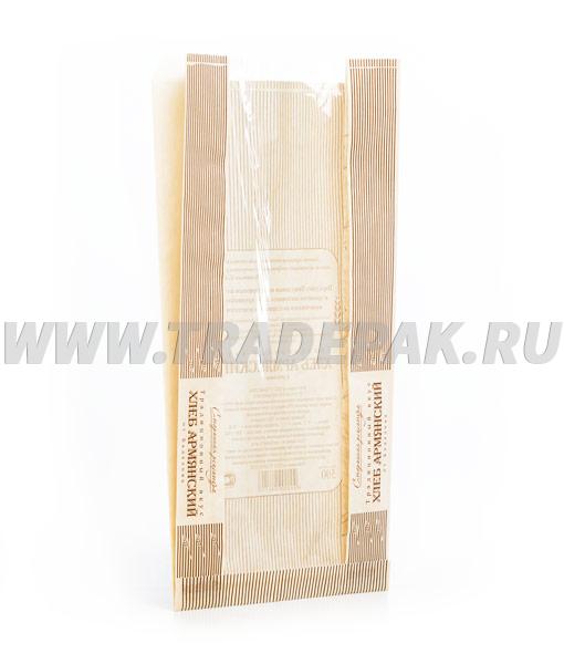 Пакет для хлеба с продольным окном 1